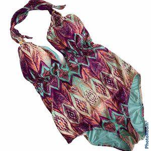 VIX Paula Hermanny Ubud Ikat one piece swimsuit